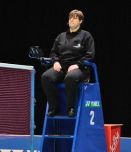 Badminton Umpire